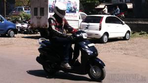 Exclusive: 2014 Yamaha Alpha India first ride