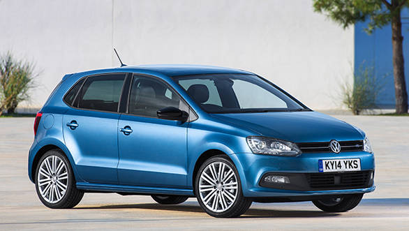 volkswagen polo front