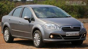 2014 Fiat Linea facelift diesel India road test