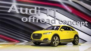 Beijing Auto Show 2014: Audi TT offroad concept unveiled