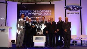 Ford's Camacari plant in Brazil starts production of ECOnetic flex-fuel engines