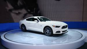 Ford Mustang Limited Edition unveiled at New York Auto Show 2014
