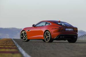 Jaguar F-Type Coupe is the 2015 CNBC TV18 OVERDRIVE Performance Car Of The Year