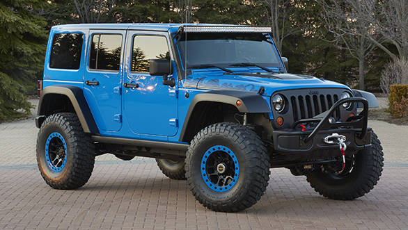 Jeep Wrangler Maximum Performance is one of six concept vehicles