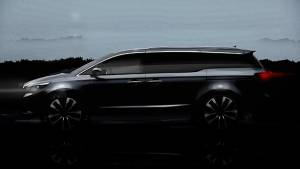 Second image of Kia Sedona MPV released