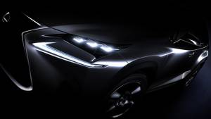 Lexus NX compact SUV to world premiere at Beijing Motor Show 2014