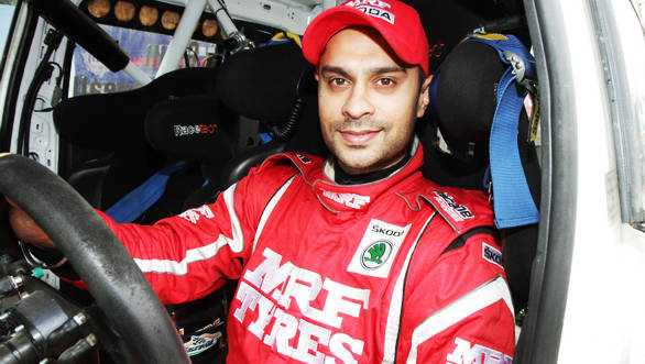 2013 Asia Pacific Rally Champion, Gaurav Gill is all set to defend his title