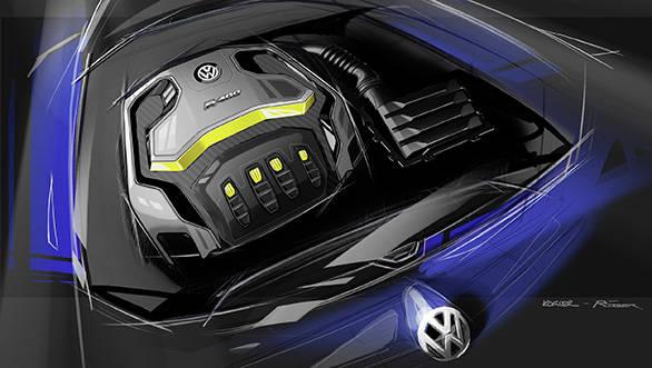 Volkswagen Golf R400 engine