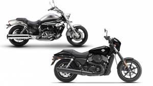 Spec comparo: Harley-Davidson Street 750 vs Hyosung Aquila Pro GV650