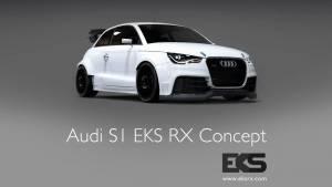 Mattias Ekstrom's bonkers Audi S1 destined for the World Rallycross Championship