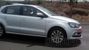 Spied: 2015 Volkswagen Polo facelift export model testing in India