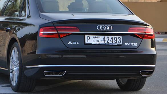 Audi A8 badging 2