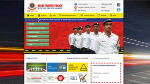 Delhi traffic police launch mobile app and upgraded website