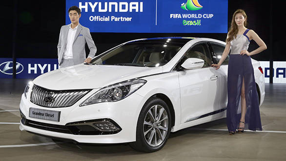 The new Hyundai Grandeur has undergone some cosmetic as well a few interior upgrades
