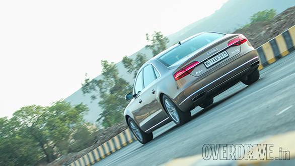 2014 Audi A8L rear