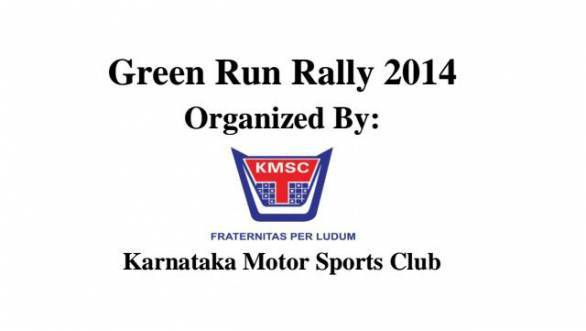 First round of the Green Run Rally 2014 starts on the 17th of May