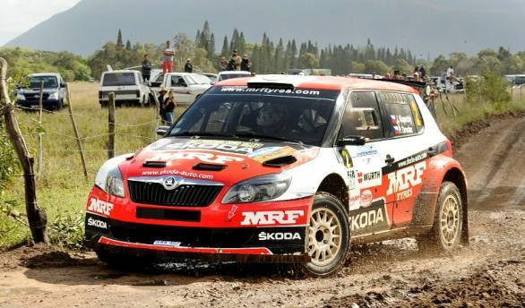 Jan Kopecky and Gaurav Gill are now tied for points in the APRC