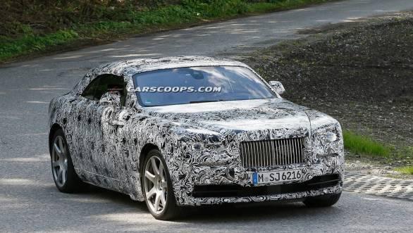 Rolls-Royce Wraith convertible 2