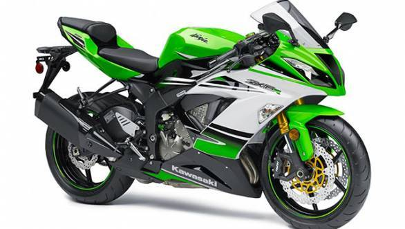 The new 2015 Kawasaki ZX 6R sports a new design along with an added ABS option