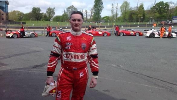 Gautam Singhania bagged two wins in the 2014 Pirelli Ferrari Open