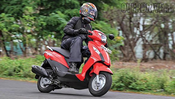 2014 Suzuki Let's India first ride