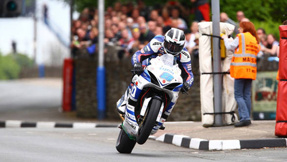 Podiums aplenty in 2014 and a broken left fibula is what William Dunlop took  back home to Ballymoney