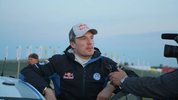 VW's most experienced driver Jari-Matti Latvala could do no better than eighth overall at the end of Friday's stages