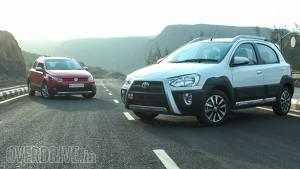 2014 Toyota Etios Cross vs Volkswagen Cross Polo