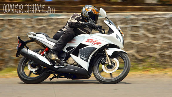 2014 Hero Karizma ZMR India First Ride