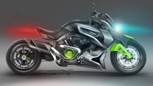 Hyosung ST7 Power Cruiser concept showcased