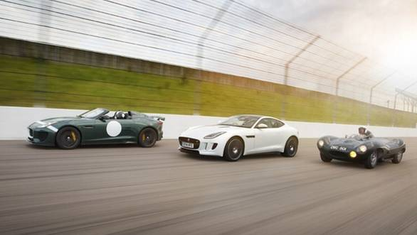 The production-spec Jaguar Project 7 is based on the F-type and celebrates the 60th anniversary of the D-type