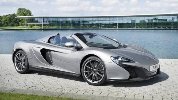 The MSO 650S takes design cues from the McLaren MSO 650S Coupe Concept