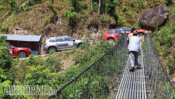 On the way to Hetauda, we drove through some truly awesome roads