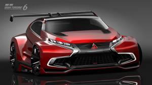Mitsubishi Concept XR-PHEV Evolution Vision Gran Turismo released