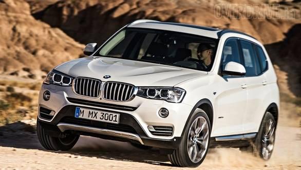 BMW X3 facelift 1