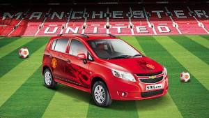 Chevrolet Beat, Sail U-VA Manchester United editions launched in India
