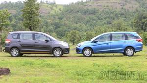 Mobilio variants explained and compared with the Ertiga