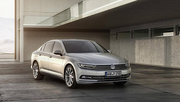 This is the 8th generation of the Passat family