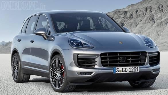 Porsche Cayenne facelift 1