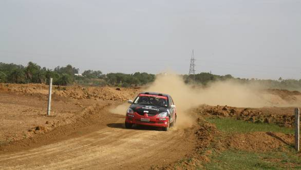 Win in the 2000cc category went to Team Yokohama's Rahul Kantharaj