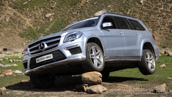 The airborne Obelix, our new name for this GL 350 mammoth