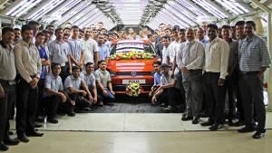 Volkswagen India crosses 4-lakh-units-produced milestone