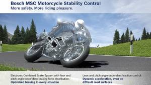 Bosch's safety technology solutions for motorcyclists explained