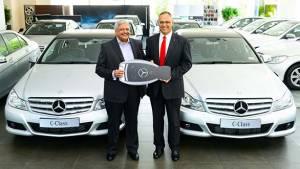 Mercedes-Benz delivers 120 C220 CDIs to Carzonrent