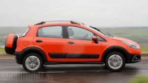 2014 Fiat Punto Avventura India first drive
