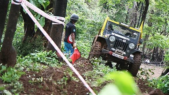 Winching aplenty at the 2014 Rainforest Challenge