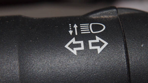 Turn signals should only indicate that you are about to take a turn in the corresponding direction