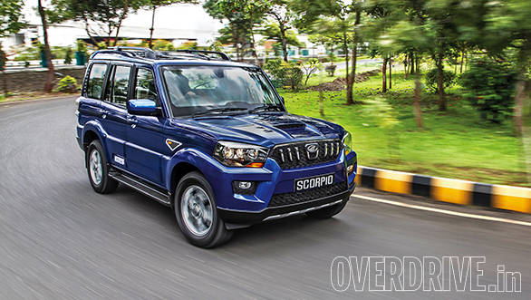 The 2014 Mahindra Scorpio S10
