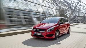 2015 Mercedes-Benz B-Class unveiled