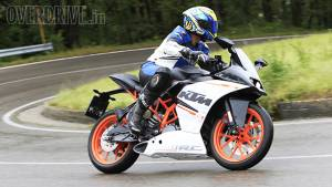 KTM RC 390 is the 2015 CNBC TV18 OVERDRIVE Bike Of The Year